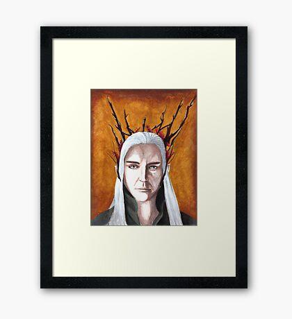 Wood Elf King Framed Print