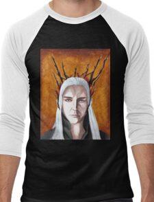 Wood Elf King Men's Baseball ¾ T-Shirt