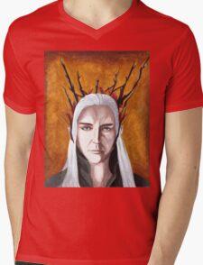 Wood Elf King Mens V-Neck T-Shirt