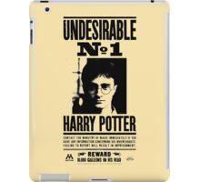 Undesirable No. 1 iPad Case/Skin