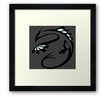 pokemon lugia legendary bird anime shirt Framed Print