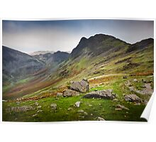 Haystacks - Cumbria Poster