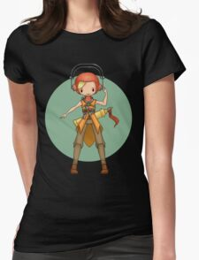 Vox from Vainglory  Womens Fitted T-Shirt