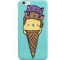 Dirty Ice Cream Cats iPhone Case/Skin