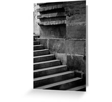 Dynastic Stairs Greeting Card