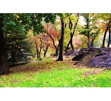 Fall is approaching Photographic Print