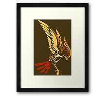pokemon pidgeotto pidgey pidgeot anime shirt Framed Print
