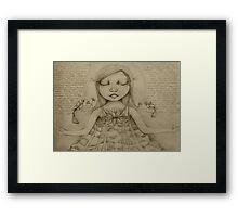 Affirmation Drawing Framed Print