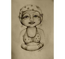 Bather drawing Photographic Print