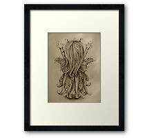 Bramble Rainbowtree drawing Framed Print