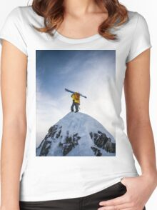 The Summit Women's Fitted Scoop T-Shirt