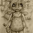Binda drawing by © Karin Taylor