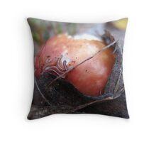 Bad Apple Throw Pillow