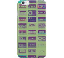 Audio cassette tape nostalgia iPhone Case/Skin