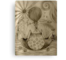 Serenity drawing Canvas Print