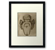 Gossamer Fairy drawing Framed Print
