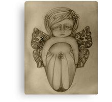 Gossamer Fairy drawing Canvas Print