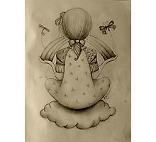 Cloud Nine drawing Photographic Print