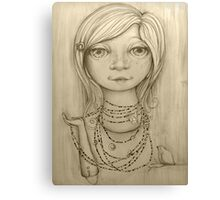 Love Beads drawing Canvas Print