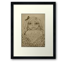 Nature's Child drawing Framed Print