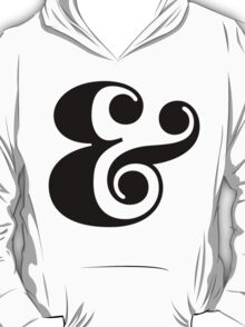 Ampersand. T-Shirt