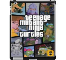 TMNT GTA iPad Case/Skin