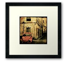 beetle coimbra - Portugal Framed Print