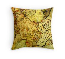 Macro Bark Throw Pillow