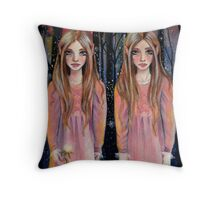 The Gift from the Elven Princesses Throw Pillow