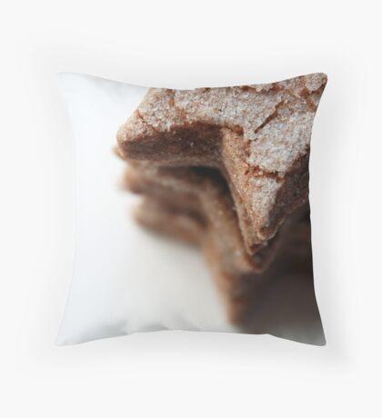 cinnnamon stars Throw Pillow