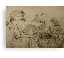 Sunday drawing Canvas Print