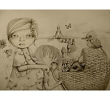 Sunday drawing Photographic Print