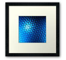 Just Blue Framed Print