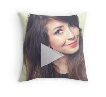 Zoella - Zoe Sugg - YouTube Throw Pillow