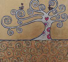 A Pair Of Love Birds by Adam Regester