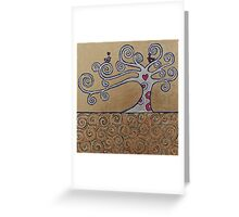 A Pair Of Love Birds Greeting Card