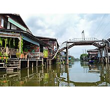 Outskirt of Bangkok Photographic Print