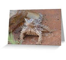 Thorny devil Greeting Card