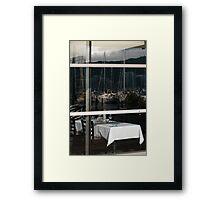 Captain's Table Framed Print