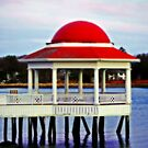 Unusual Pier in Manchester By The Sea by Monica M. Scanlan