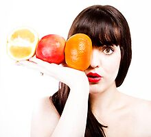 Bangs & Fruit: Balanced Collection by SianneKeely