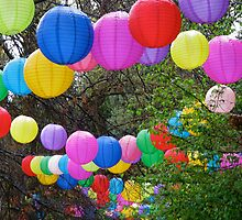 Rainbow Lanterns by snefne