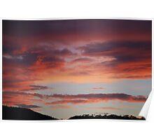 Summer Sunset  7.25 Poster
