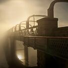 Luminous - Motor Bridge, Murray Bridge, South Australia by Mark Richards