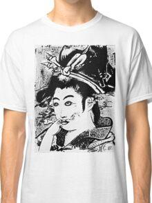Smoking Geisha Classic T-Shirt
