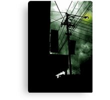 Dangerous Skies Canvas Print