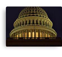 US Capitol Dome Canvas Print