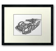 toyota 88c Framed Print