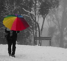 Colour in the Snow by wolfcat