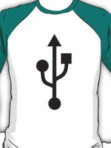 USB-symbol T-Shirt